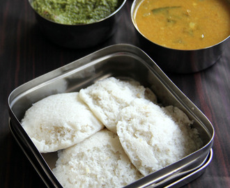 Barnyard millet Idli - Kuthiraivali idli - Healthy breakfast recipe - Healthy Idli Rice