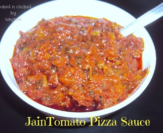 Jain Tomato Sauce for Pizza