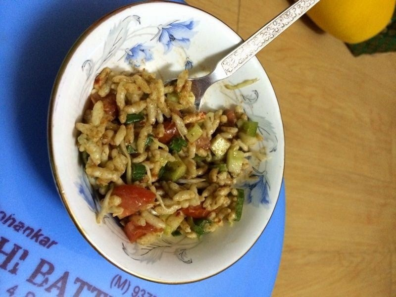 Thai Bhel Recipe