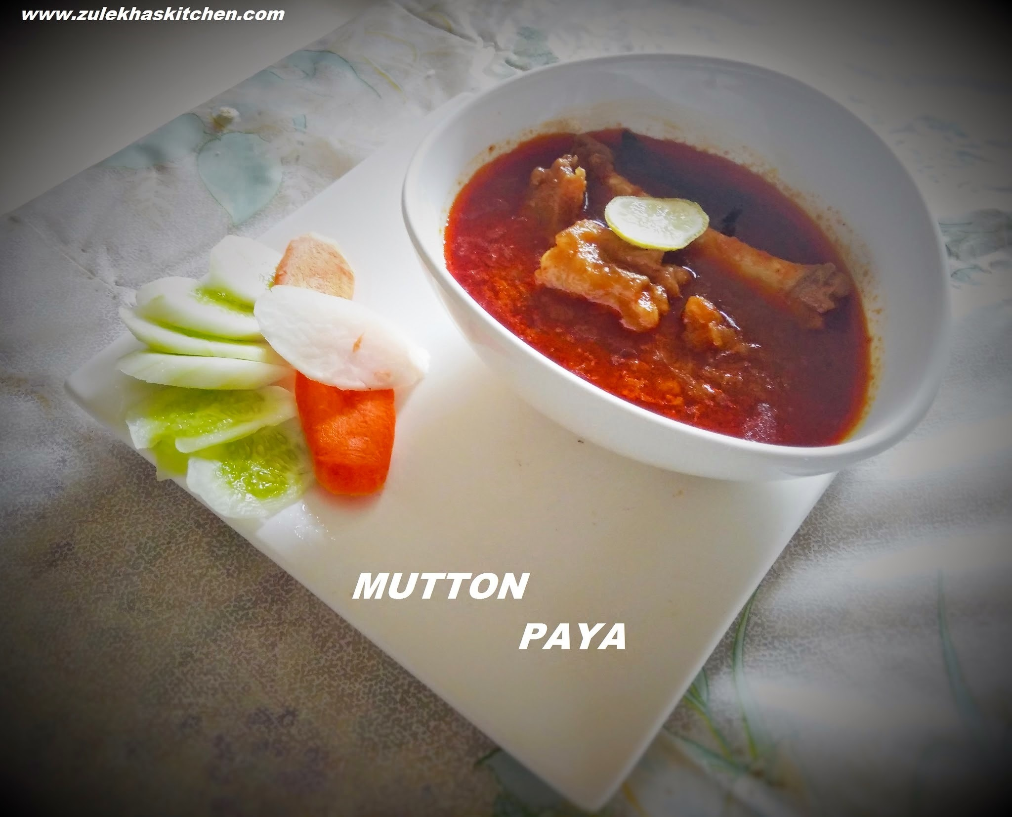 Mutton Paya | Paya soup | Mutton Paya Curry | Mutton Trotters