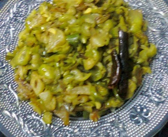 Side Dish For Roti/Chapati  - Kundri (Ivy Gourd/Tindora) Curry.