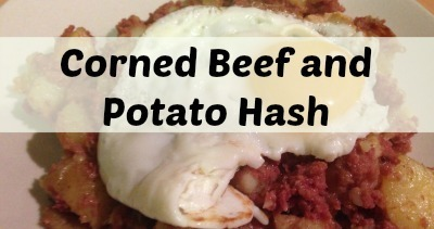 Corned beef and potato hash….