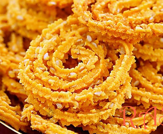 Chakli Recipe - Gujarati Chakri Recipe
