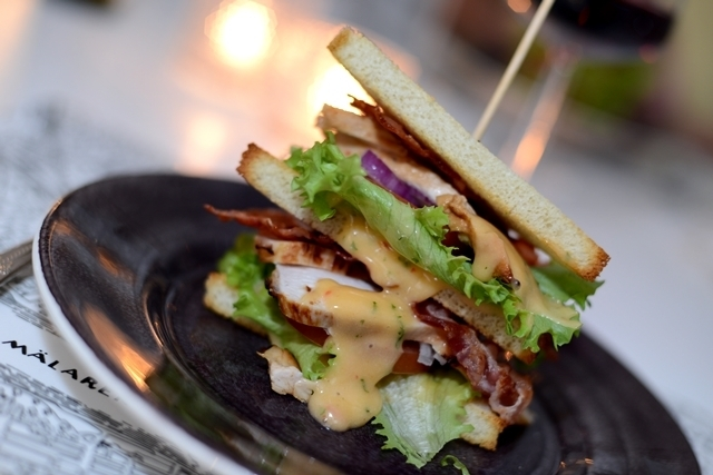 Club sandwich sweet chili – MATPLATSEN