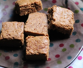 Horlicks Burfi Recipe / Horlicks Mysore Pak Recipe