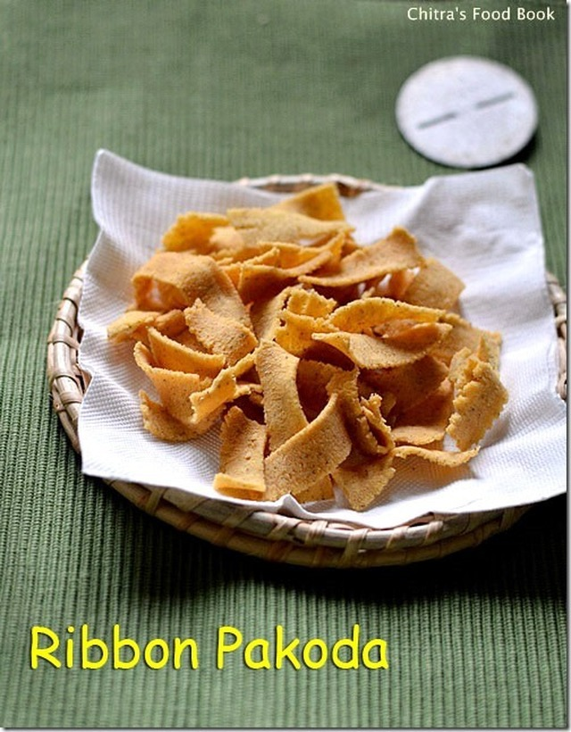 RIBBON PAKODA RECIPE/OLA PAKODA-EASY DIWALI SNACKS