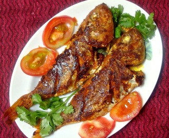 Red Snapper Fish Fry | Sankara Meen Varuval | South Indian Fish Fry recipe