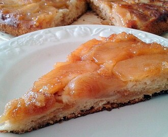 Receta de Tarta invertida de Manzanas {Upside-down Apple Cake}