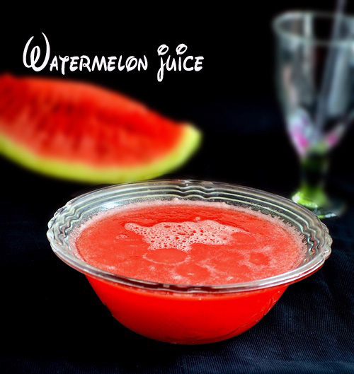 WATERMELON JUICE RECIPE|SUMMER DRINKS