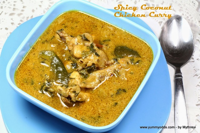 Spicy Chicken Curry with Coconut Milk