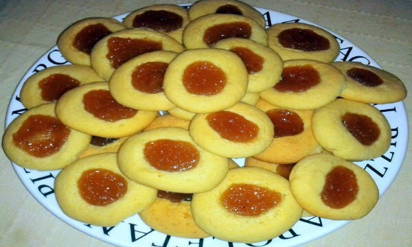 Galletitas Pepas Argentinas {thumbprint cookies}