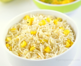 Corn Pulao | Sweet Corn Pulao ,How to make Corn Pulao , Rice Varieties