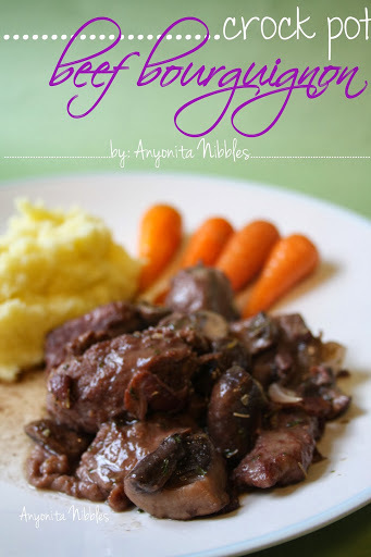 Crock Pot Beef Bourguignon Recipe with Step-by-step Instructions