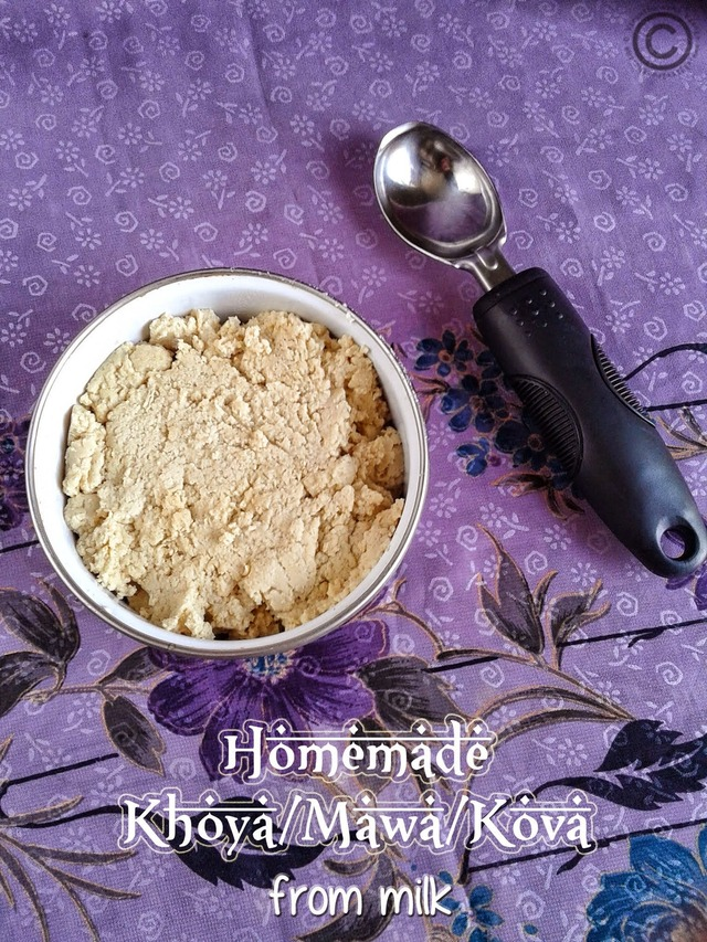 HOMEMADE KOVA I HOW TO MAKE KHOYA FROM MILK I HOW TO MAKE TRADITIONAL MAWA AT HOME