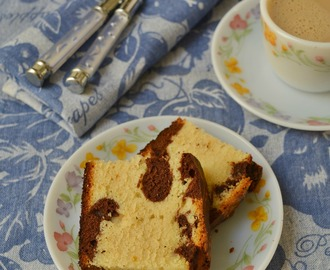 Marble Cake | Butter Marble Cake Recipe