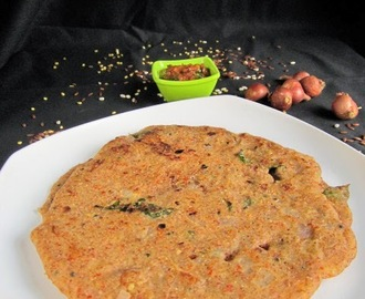 BARLEY RED RICE LENTIL ADAI I MULTI LENTIL CREPE I HEALTHY BREAKFAST
