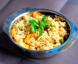 Brinj - A Traditional Vegetable Biryani