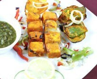 Super Bowl Game Snack : Paneer Tikka