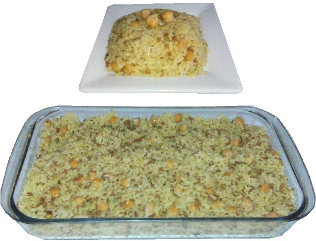 Pilaf de Arroz y garbanzo