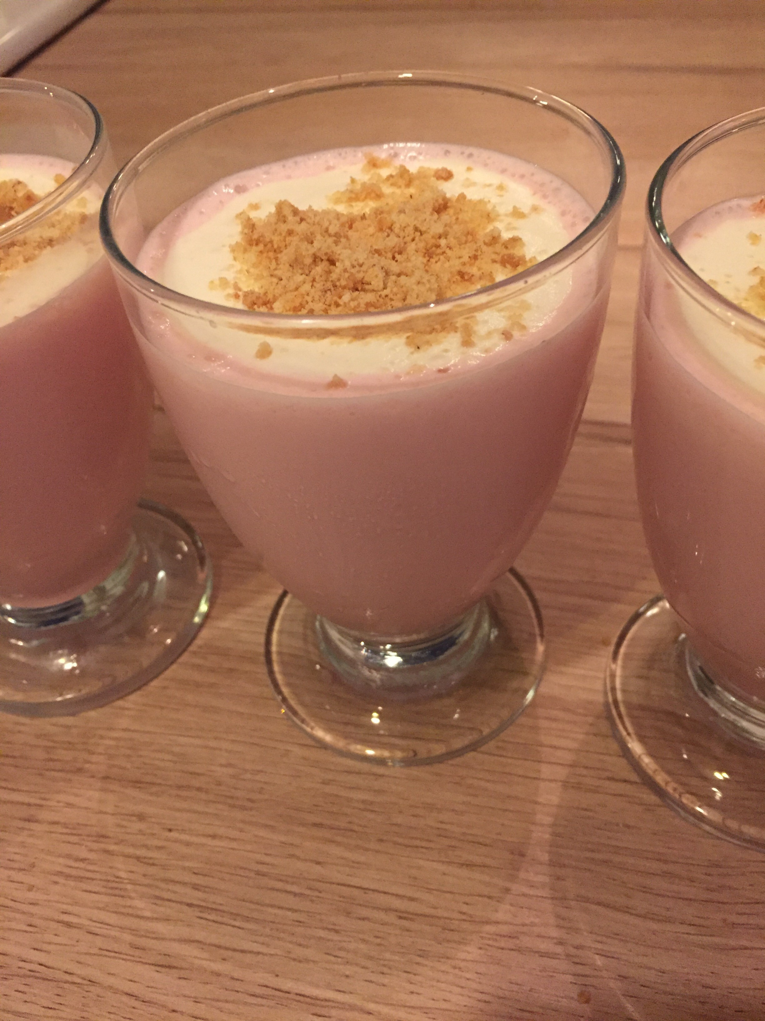 Opskrift på strawberry cheesecake milkshake