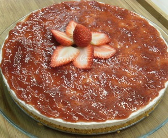 Cheesecake de Morango - Light