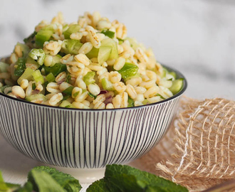 vegan durum wheat salad: to go or for your next barbecue