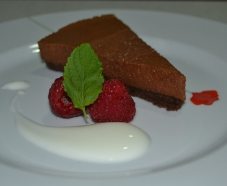 Cheesecake de chocolate by Eva Arguiñano. Receta