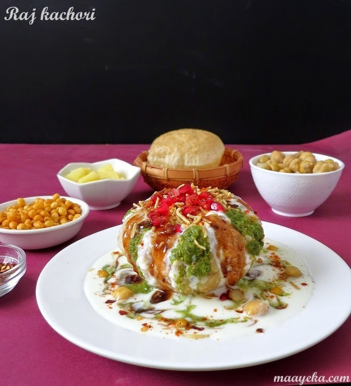 Diwali Special: How to make Raj Kachori / Indian style crispy tacos