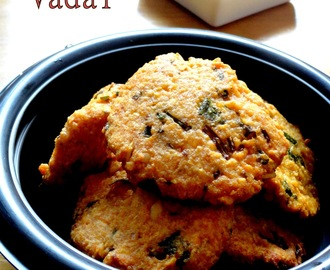 Paruppu Vadai | Spiced Lentil Fritters