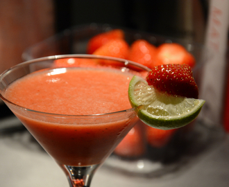 Oppskrift: Strawberry daiquiri
