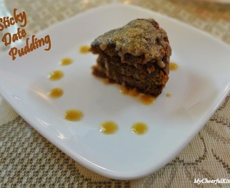 Eggless Sticky Date Pudding