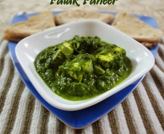 Palak Paneer (Quick and easy)