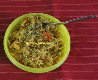 Methi Pulav (No Onion - No Garlic recipe)