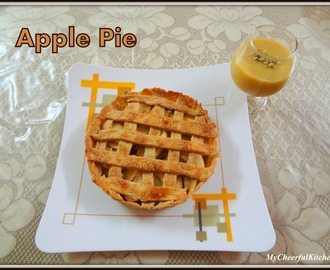 Apple Pie (Eggless)