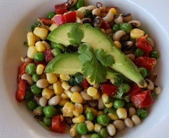 Mexican Black Eyed Pea Salad