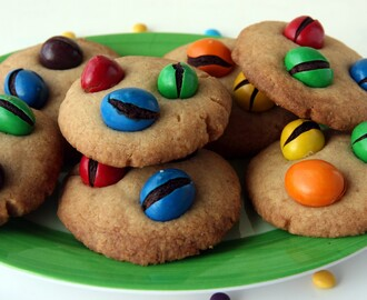 Galletas con M&M