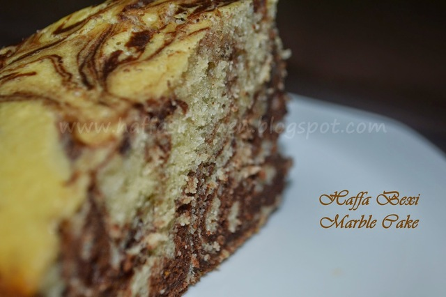 Chocolate Marble Cake - Birthday special!