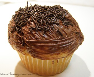 Muffin com nutella