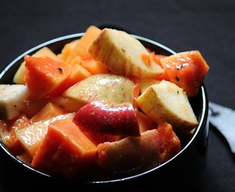 Papaya Salad Recipe / Fruit Salad Recipe