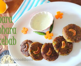 Hara Bhara Kebab | Peas Potato And Spinach Cutlet