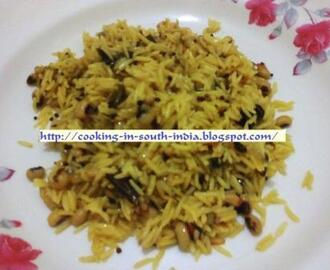 Black Eyed Peas Rice  / Karamani Rice