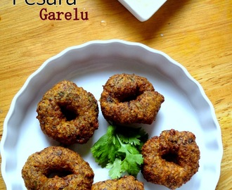 Pesara Garelu | Green Moong Dal Vada - Easy Festival Snacks Recipe
