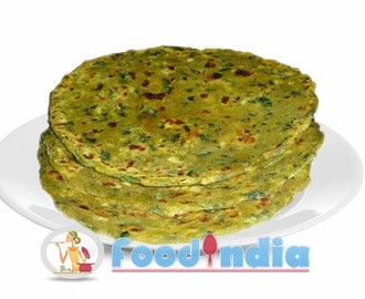 Famous Gujarati Thepla in Tasty way Palak Thepla Recipe
