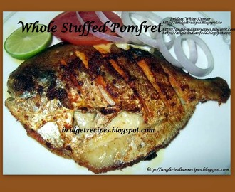 STUFFED WHOLE FRIED POMFRET
