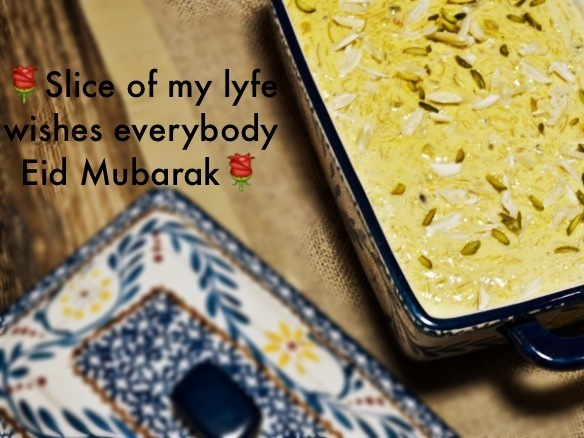 Eid Mubarak and my family's favourite Kheer recipe