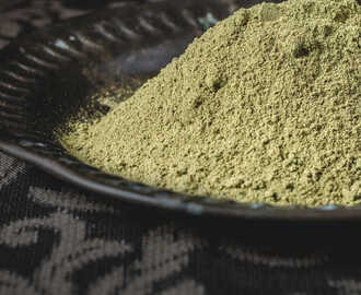Vallarai Keerai Kollu Podi / Brahmi Leaves & Horsegram Powder - for Rice, Idli & Dosa