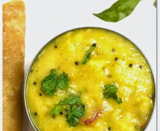 Bombay Chutney Recipe - Side dish for Poori