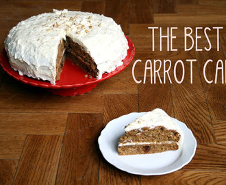 De beste worteltaart ever (best carrot cake ever)
