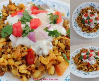HEALTHY MOONG CHAAT