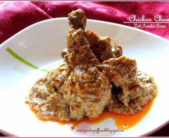Chicken Chaap...!!! Chicken In Rich Aromatic Gravy...!!!